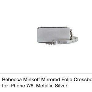 Rebecca Minkoff Mirrored Folio Crossbody Case 7+8+